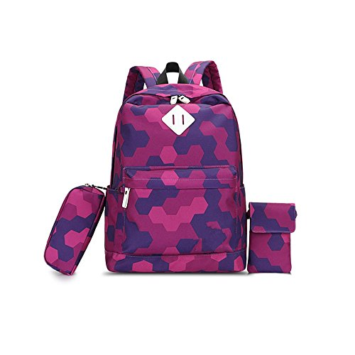 S Kaiko Modern Style Canvas Backpack Casual Daypacks School Backpack For Women And Men Laptop