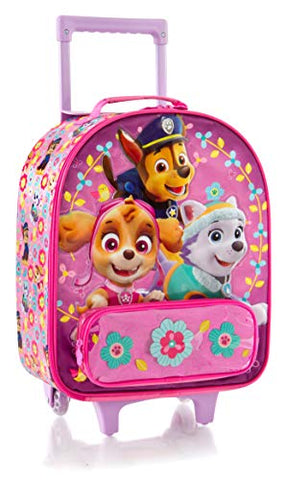 "Heys America Nickelodeon Paw Patrol Girl's 18"" Upright Carry-On Luggage"