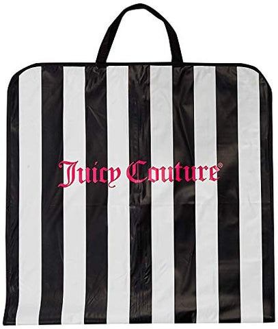 "Juicy Couture 49"" Foldover Garment Bags with Handles Travel Zip-up Dress, Suit, Gown Carrier Travel"
