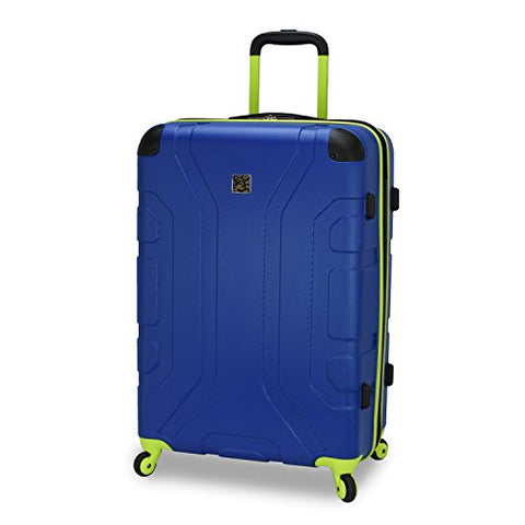 "U.S. Traveler Sky High 26"" Expandable Hardside Spinner, Navy"