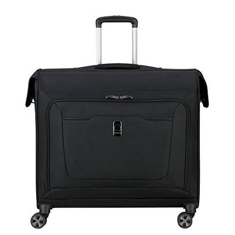 Delsey Luggage Hyperglide Spinner Garment Bag Suit Or Dress, Black