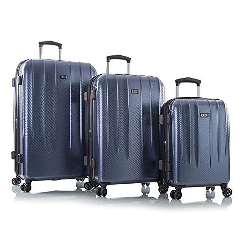 "Leo by Heys - Legend Hard Side Spinner Luggage Sets 3pc Set - 31"", 27"" & 21.5"" (Blue)"
