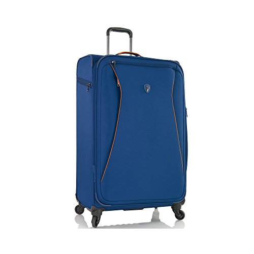 "Helix 26"" Spinner Suitcase Color: Blue"