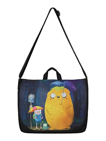 Adventure Time Finn and Jake Totoro Messenger Bag