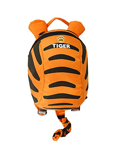 3D Unique Kids Backpack Anti-lost Baby Bag Fashion Backpack [Tiger]