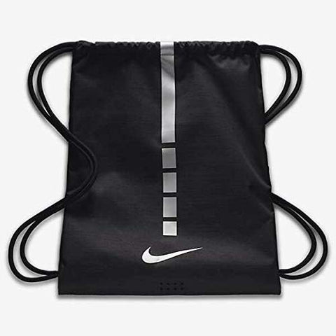 Nike Hoops Elite Sack Black/Black/Metallic Cool Grey