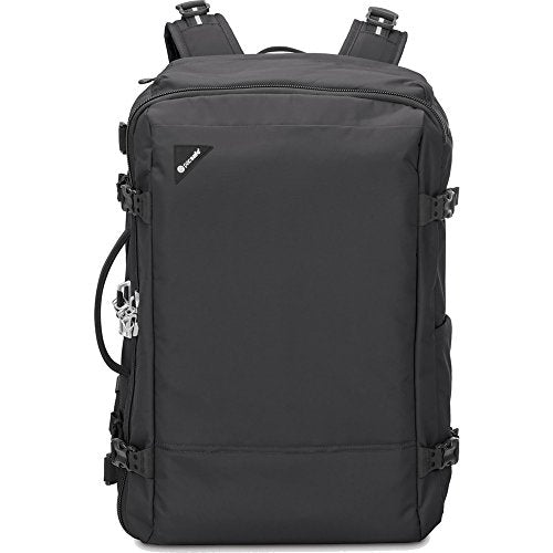 Pacsafe Vibe 40 Anti-Theft 40L Weekender Backpack, Black
