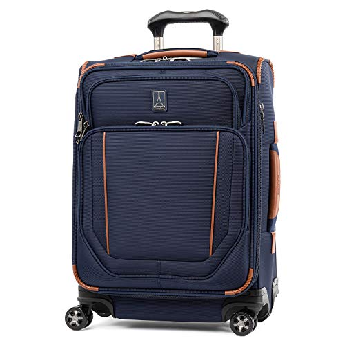 Travelpro Crew Versapack Max Carry-on Exp Spinner, Patriot Blue