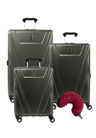 Travelpro Maxlite 5 Hardside 4-Pc Set: Int'L C/O, Exp. 25-Inch And 29-Inch Spinner With Travel