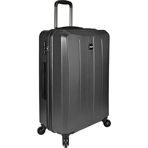 U.S. Traveler Highrock 26 Inch Hardside Spinner (Charcoal)