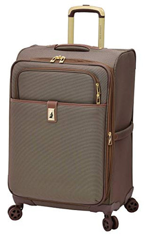 "London Fog Kensington Ii 25"" Expandable Spinner, Bronze"