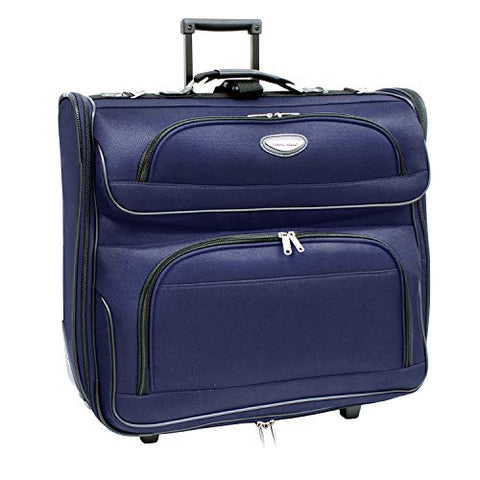 Travel Select Amsterdam Business Rolling Garment Bag, Navy