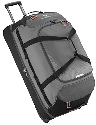 Eagle Creek Expanse Drop Bottom Wheeled Duffel 32 Inch Luggage, Stone Grey