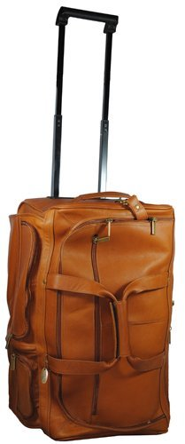 David King & Co. 20 Inch Rolling Duffel, Tan, One Size