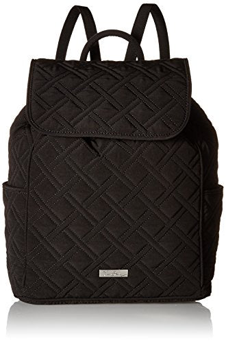 Vera Bradley Women'S Drawstring Backpack, Classic Black