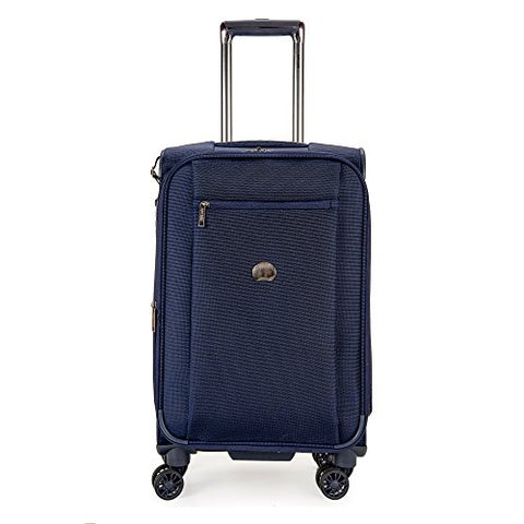 DELSEY Paris Montmartre 4 Wheel 21 Carry Exp Softside Lug, Navy