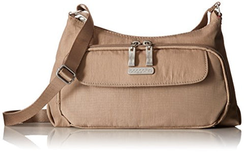 Baggallini Everyday Crossbody Bag - Stylish, Lightweight Purse With Built-In Wallet and