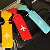 Carise PVC Travel Luggage Label Straps Suitcase ID Name Address Identify Tags Luggage Tags