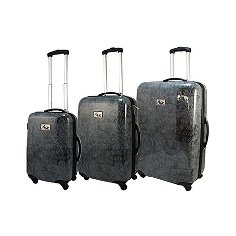 Chariot 3 Piece Hardside Lightweight Spinner Upright Luggage Set