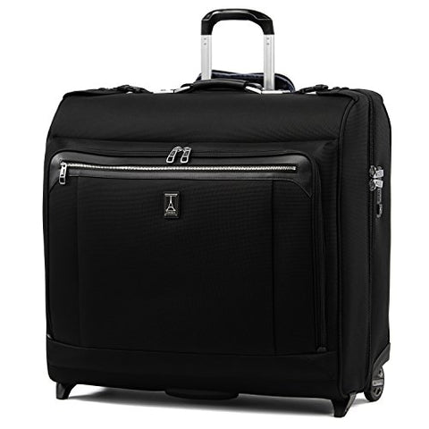 "Travelpro Luggage Platinum Elite 50"" Rolling Garment Bag, Suitcase, Shadow Black"