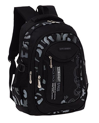 Fanci Flora Camo Prints Waterproof Nylon Elementary Middle High School Backpack Bookbag for Teenage