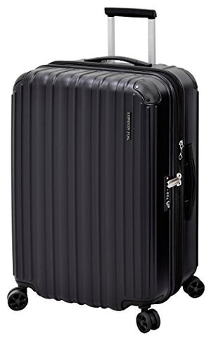 "London Fog Heathrow 25"" Expandable Spinner, Black"