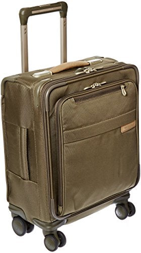 Briggs & Riley @ Baseline Luggage Baseline Commuter Spinner Bag, Olive, Medium