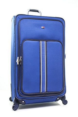"Tommy Hilfiger Signature Solid 29"" Expandable Spinner, Blue"