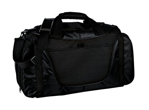 Port & Company Luggage-And-Bags Improved Two Tone Medium Osfa Black/ Black