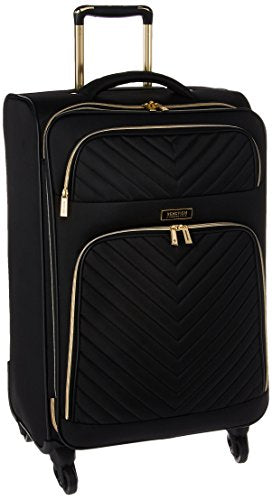 "Kenneth Cole Reaction Women's Chelsea 20"" 4-Wheel Upright Luggage, Black"