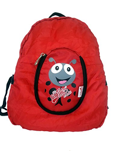 Cuties & Pals Cuties And Pals Polka Ladybird Kids Foldable Backpack