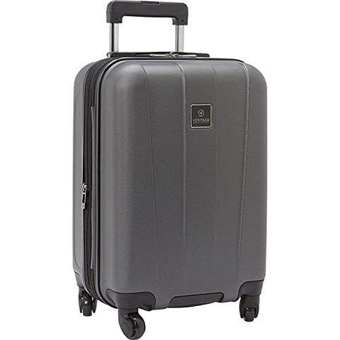 "Heritage Travelware Gold Coast 20"" Carry-on Suitcase, Pewter"