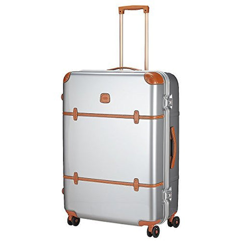 "Brics Bellagio Metallo 30"" Spinner Trunk (One Size, Silver)"