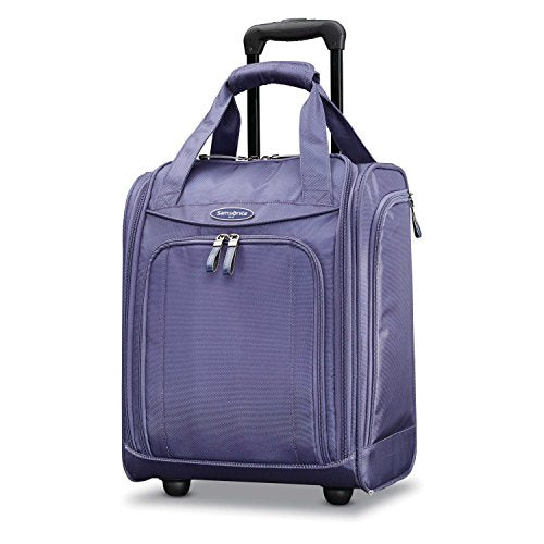 Samsonite Large Wheeled Underseater, Purple Cloud