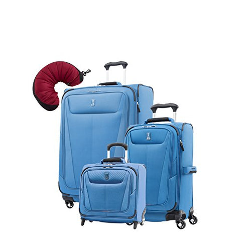 "Travelpro Maxlite 5 | 4-Pc Set | Rolling Tote, 21"" Carry-On & 29"" Exp. Spinners With Travel"
