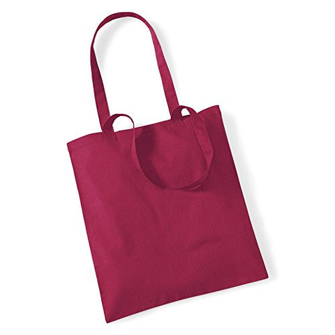 Westford Mill Shopping Bag For Life. - Cranberry