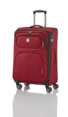 "Titan Nonstop Medium Lightweight Spinner Expandable Suitcase 27"" (Red)"