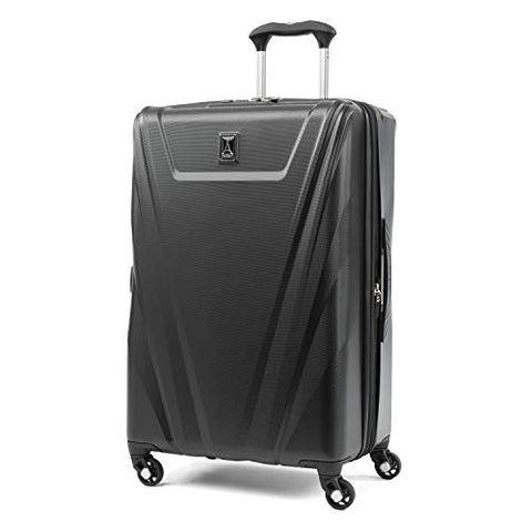 "Travelpro Maxlite 5 25"" Expandable Hardside Checked Spinner Luggage (Black)"
