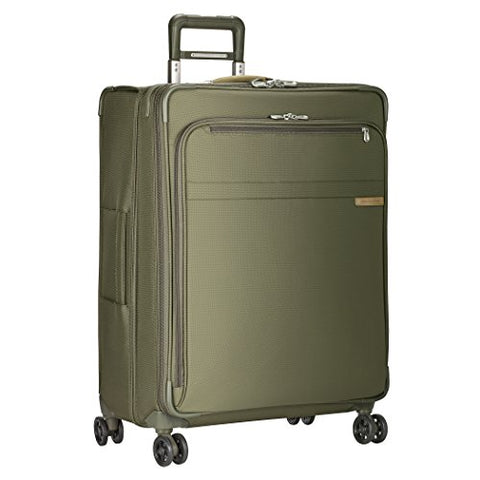 "Briggs & Riley Baseline Large Expandable 28"" Spinner, Olive"