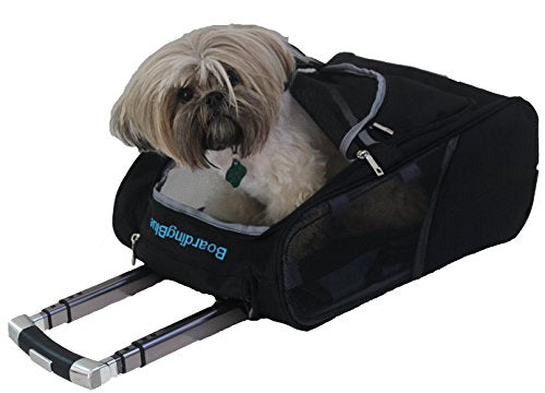 "New Delta Pet Rolling Small Pet Carry On carrier Size: 17"" x 13"" x 8"""