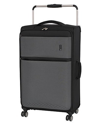 "it luggage World's Lightest Debonair 31.5"" 8-Wheel Spinner, Black/White"
