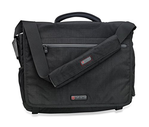 ECBC Zeus Messenger Bag for 15-Inch Laptop - Black