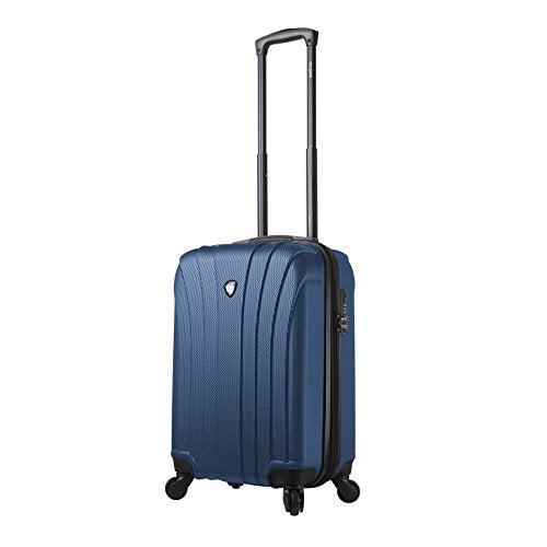 "Mia Toro Italy Nicosia Hardside Spinner 20"" Carry-On, Blue"