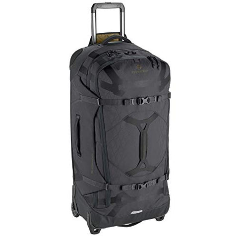 Eagle Creek Gear Warrior 2-Wheel Rolling Duffel Bag, 34-Inch, Jet Black