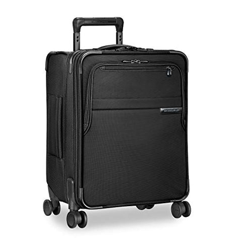 "Briggs & Riley Baseline International Carry-On Expandable Wide-Body 21"" Spinner, Black, One Size"