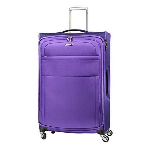 Samsonite Eco Lite Spinner Carry-On Luggage Large Purple Travel Bag