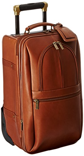 Claire Chase Expandable 21 Inch Pullman, Saddle, One Size