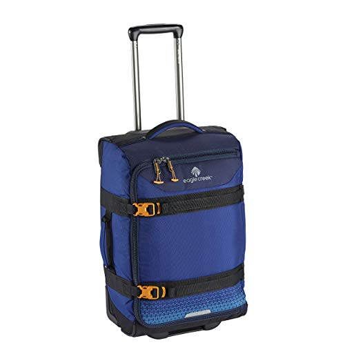 Eagle Creek Expanse Wheeled Duffel International Carry On Rolling, Twilight Blue, One Size