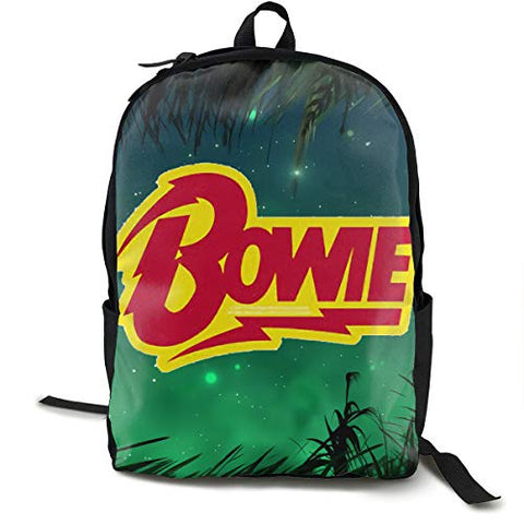 Stephan D Hampton David Bowie Unisex Backpack Hiking Backpack Travel Sports Bag