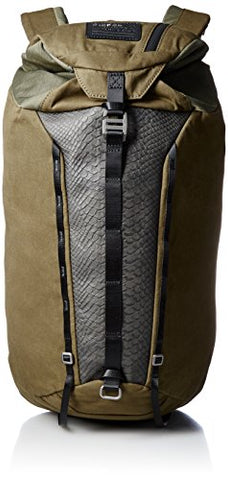 Diesel Men'S On The Rise M-Rising Back Ii Backpack, Black/Olive Night